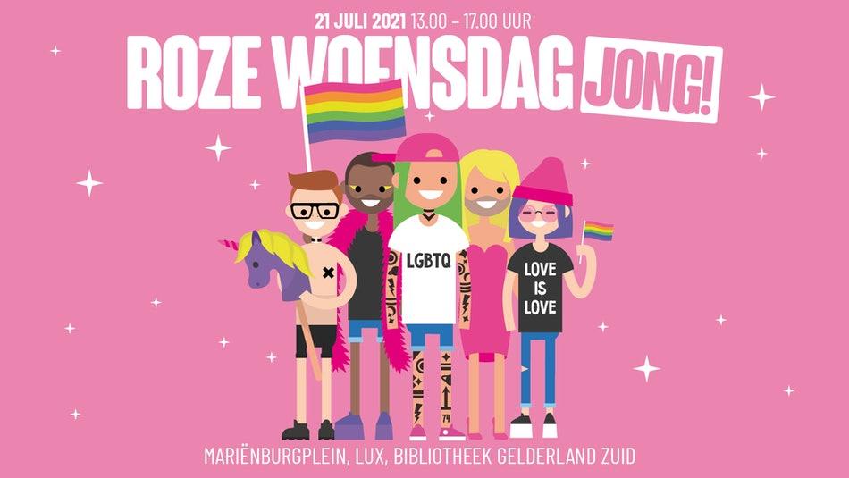 Roze Woensdag Jong! Met Splinter Chabot, Maxime Albertazzi en Edward van de Vendel